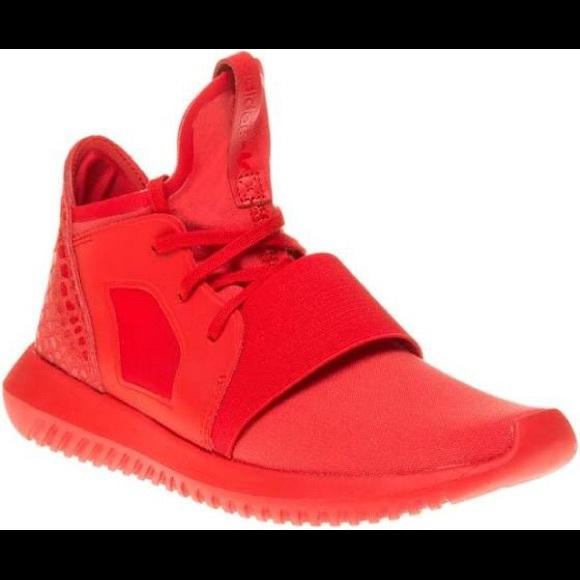 Adidas Tubular Defiant Red Sneakers